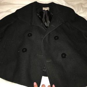 LOFT black pea coat